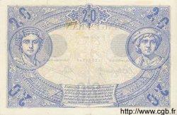 20 Francs NOIR FRANCE  1904 F.09.03 pr.SPL
