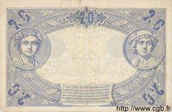 20 Francs BLEU FRANCE  1906 F.10.01 SUP