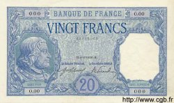 20 Francs BAYARD FRANCE  1916 F.11.00 NEUF