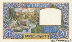 20 Francs SCIENCE ET TRAVAIL FRANCE  1940 F.12.11 SPL
