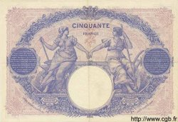 50 Francs BLEU ET ROSE FRANCE  1926 F.14.39 pr.SUP