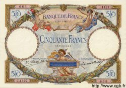 50 Francs LUC OLIVIER MERSON FRANCE  1927 F.15.01 SUP+