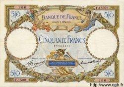 50 Francs LUC OLIVIER MERSON type modifié FRANCE  1934 F.16.05 TTB