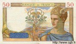 50 Francs CÉRÈS FRANCE  1935 F.17.04 TTB+