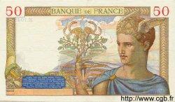 50 Francs CÉRÈS FRANCE  1935 F.17.06 TTB+ à SUP