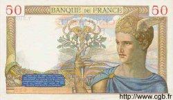 50 Francs CÉRÈS FRANCE  1935 F.17.18 SPL