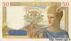 50 Francs CÉRÈS FRANCE  1936 F.17.24 SUP