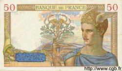 50 Francs CÉRÈS FRANCE  1936 F.17.27 TTB