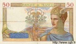 50 Francs CÉRÈS FRANCE  1936 F.17.28 TTB+