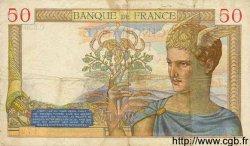 50 Francs CÉRÈS FRANCE  1936 F.17.32 TB+