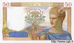 50 Francs CÉRÈS modifié FRANCE  1938 F.18.17 SPL
