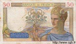 50 Francs CÉRÈS modifié FRANCE  1939 F.18.31 pr.TTB