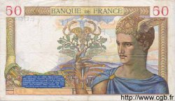 50 Francs CÉRÈS modifié FRANCE  1939 F.18.35