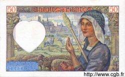 50 Francs JACQUES CŒUR FRANCE  1940 F.19.01 TTB à SUP