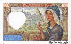 50 Francs JACQUES CŒUR FRANCE  1941 F.19.05 SUP+
