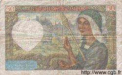 50 Francs JACQUES CŒUR FRANCE  1942 F.19.19 TB+