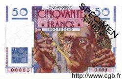 50 Francs LE VERRIER FRANCE  1946 F.20.00 pr.NEUF