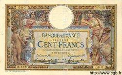100 Francs LUC OLIVIER MERSON sans LOM FRANCE  1920 F.23.00 SUP