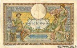 100 Francs LUC OLIVIER MERSON sans LOM FRANCE  1909 F.23.01 pr.TTB