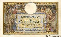 100 Francs LUC OLIVIER MERSON sans LOM FRANCE  1911 F.23.03 pr.TTB