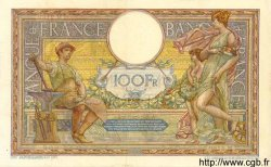 100 Francs LUC OLIVIER MERSON sans LOM FRANCE  1914 F.23.06 TTB+