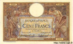100 Francs LUC OLIVIER MERSON sans LOM FRANCE  1918 F.23.10 TTB+