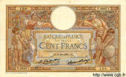 100 Francs LUC OLIVIER MERSON grands cartouches FRANCE  1930 F.24.09 TTB+