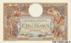 100 Francs LUC OLIVIER MERSON type modifié FRANCE  1937 F.25.05 pr.SUP