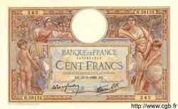 100 Francs LUC OLIVIER MERSON type modifié FRANCE  1938 F.25.19 SUP à SPL