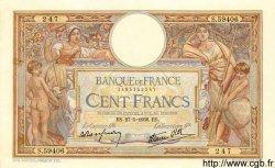 100 Francs LUC OLIVIER MERSON type modifié FRANCE  1938 F.25.20 TTB+