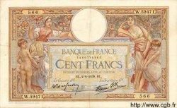 100 Francs LUC OLIVIER MERSON type modifié FRANCE  1938 F.25.21 TTB