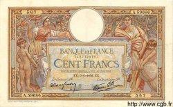 100 Francs LUC OLIVIER MERSON type modifié FRANCE  1938 F.25.22 TTB+