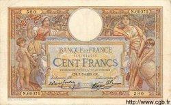 100 Francs LUC OLIVIER MERSON type modifié FRANCE  1938 F.25.25 TB à TTB