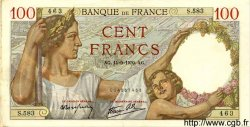 100 Francs SULLY FRANCE  1939 F.26.06 SUP