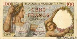 100 Francs SULLY FRANCE  1939 F.26.19 TTB+