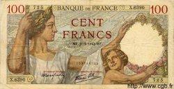 100 Francs SULLY FRANCE  1940 F.26.20 TB à TTB