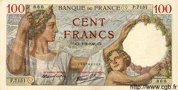 100 Francs SULLY FRANCE  1940 F.26.22 SPL+