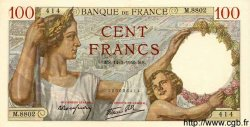 100 Francs SULLY FRANCE  1940 F.26.25 pr.NEUF