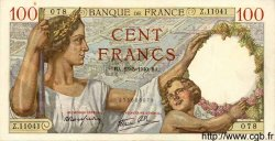 100 Francs SULLY FRANCE  1940 F.26.30 pr.SPL