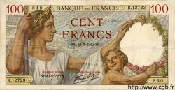 100 Francs SULLY FRANCE  1940 F.26.33 TTB