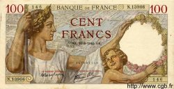 100 Francs SULLY FRANCE  1940 F.26.36 pr.SUP