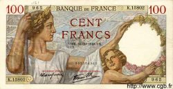 100 Francs SULLY FRANCE  1940 F.26.39 pr.SUP