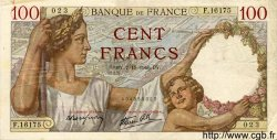 100 Francs SULLY FRANCE  1940 F.26.40 TB à TTB