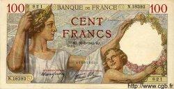 100 Francs SULLY FRANCE  1941 F.26.45 TTB+ à SUP