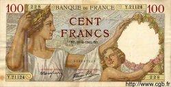 100 Francs SULLY FRANCE  1941 F.26.51 TTB