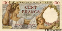 100 Francs SULLY FRANCE  1941 F.26.60 TTB+