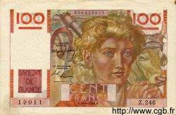 100 Francs JEUNE PAYSAN FRANCE  1948 F.28.18 SUP