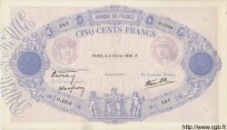500 Francs BLEU ET ROSE modifié FRANCE  1939 F.31.24 TTB+