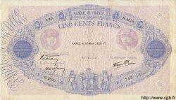 500 Francs BLEU ET ROSE modifié FRANCE  1939 F.31.27 TTB