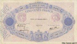 500 Francs BLEU ET ROSE modifié FRANCE  1939 F.31.47 TTB+